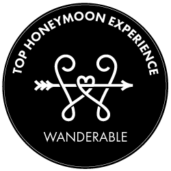 Top Rated Honeymoon Experience by Wanderable Honeymoon Registry