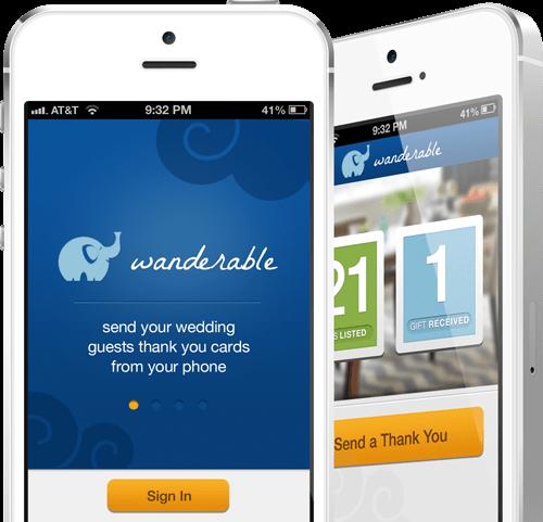 Wanderable iPhone App